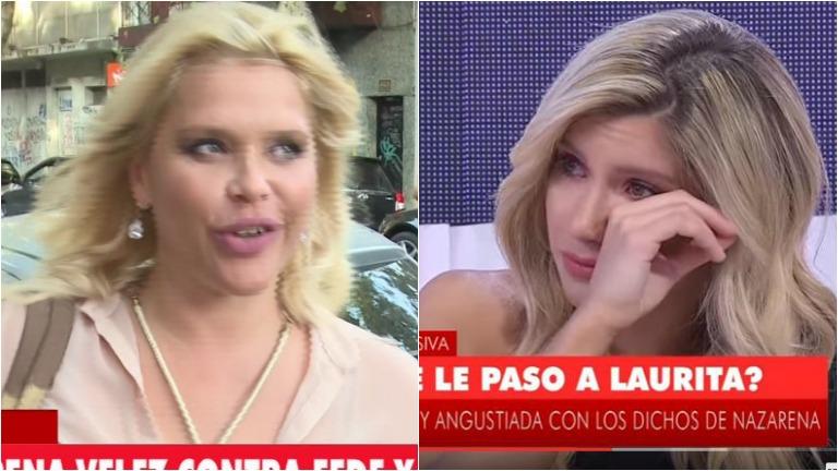 La chicana de Nazarena Vélez a Laurita Fernández: :