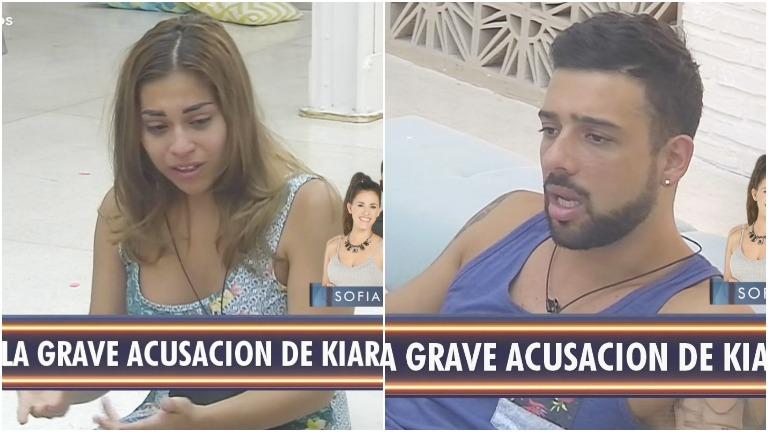 La tremenda acusación de Kiara a Leonel en Despedida de solteros
