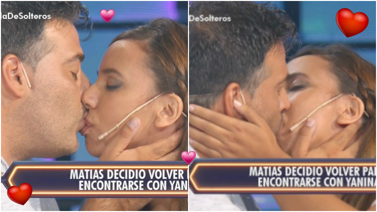 Matías y Yanina se reconciliaron en Despedida de solteros