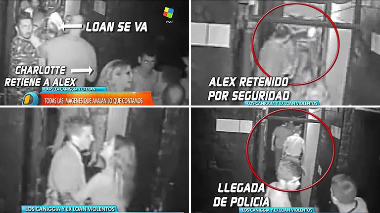 Mirá el video de la furia de Alexander Caniggia en un boliche