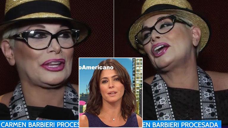 El enojo de Carmen Barbieri con Desayuno Americano… ¡y el palito a Pamela David!