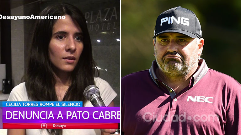 El duro testimonio de la exmujer del Pato Cabrera: