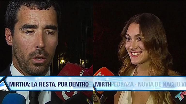 Nacho Viale oficializó su noviazgo con Lucía Pedraza en el cumpleaños de Mirtha