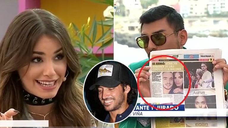 A Lali Espósito la relacionaron sentimentalmente con Maluma en un diario chileno, y ella aclaró los tantos