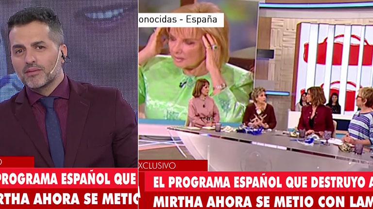 Un programa español opinó sin filtro de Mirtha Legrand tras su cumpleaños 90… ¡y apuntó contra LAM!
