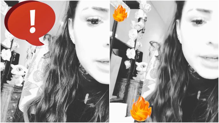 El descargo de Candelaria Tinelli en su Instagram Stories