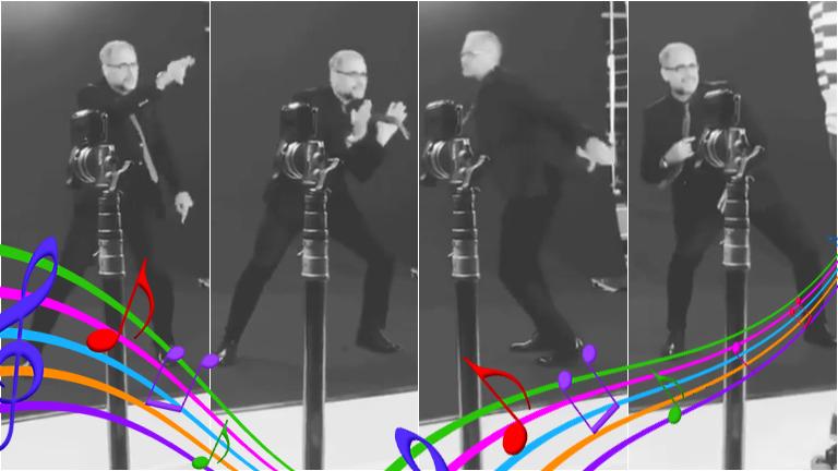 Mirá cómo baila Jorge Rial en las promos de América