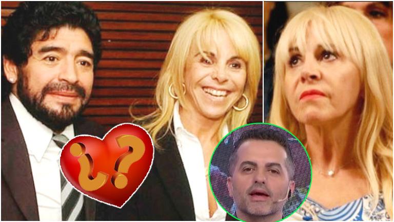 La respuesta de Claudia Villafañe sobre la posibilidad de volver a estar en pareja con Maradona