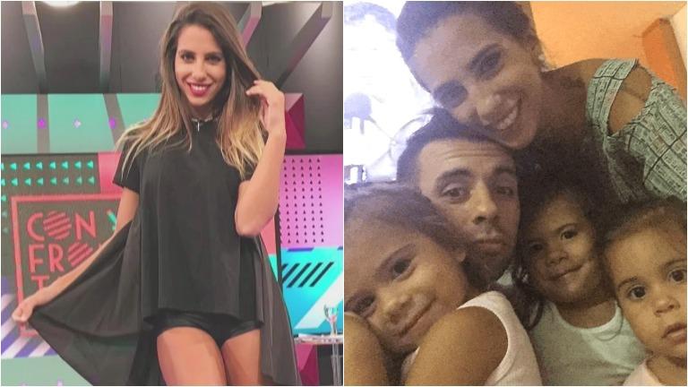 Cinthia Fernández abandona el país para irse a vivir a Ecuador con Matías Defederico y sus hijas