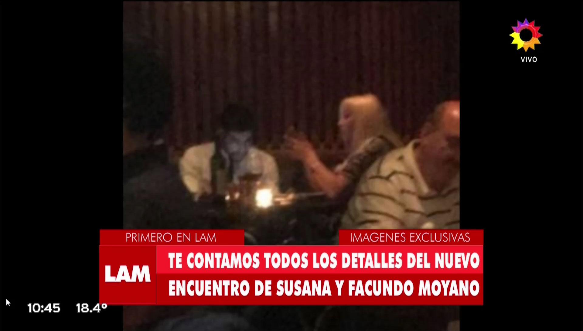 Las imágenes de la cena íntima en un hotel cinco estrellas de recoleta