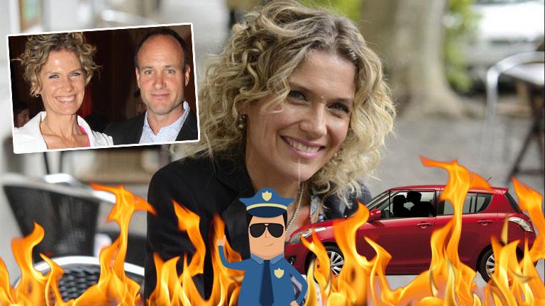 Maru Botana contó que tuvo un encuentro hot con su marido en el auto… y fue interrumpida por la policía