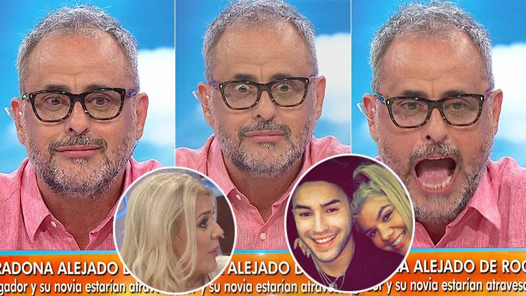El datazo sobre el novio de Morena que Rial se enteró en vivo: