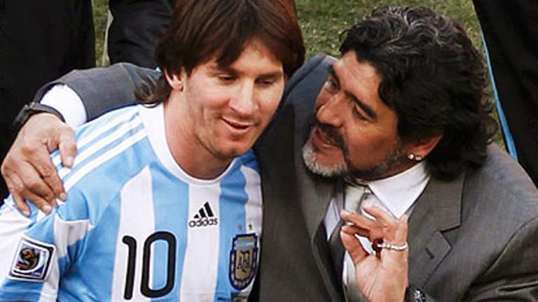 Diego Maradona se desligó de la sanción de la FIFA a Lionel Messi