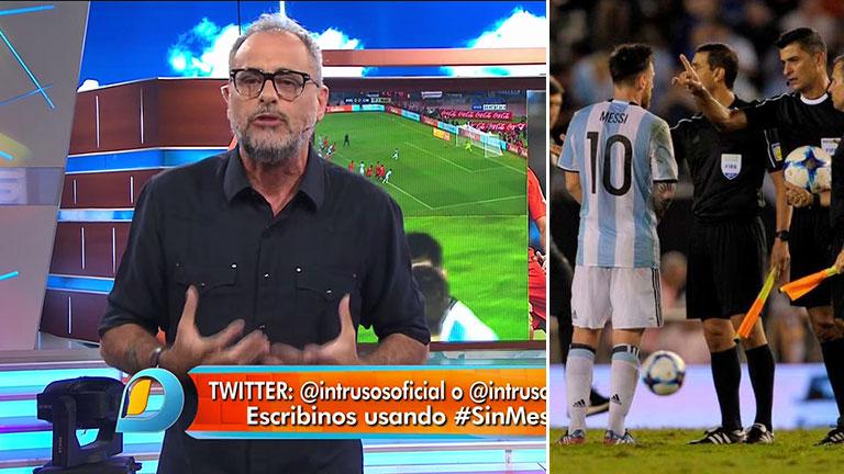 Picante arranque de Rial en Intrusos, tras la sanción a Lionel Messi