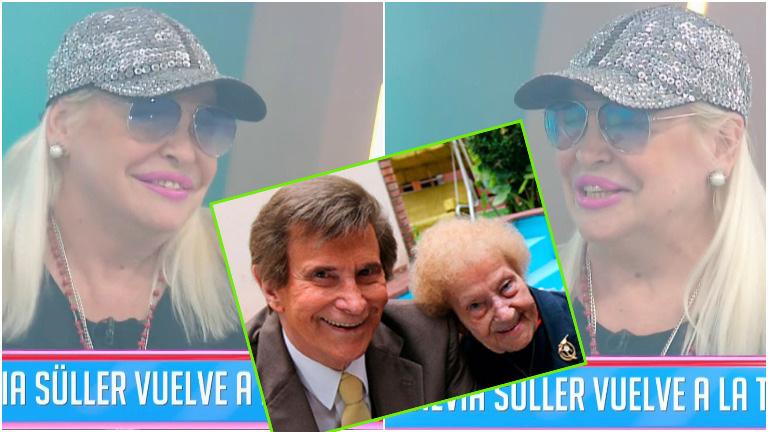 El desubicado comentario de Silvia Süller en su debut de Cuestión de Peso tras la muerte de su exsuegra