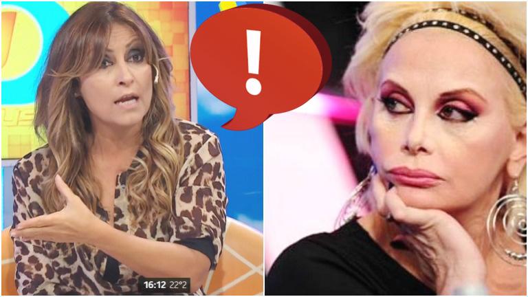 El enojo de Marcela Tauro con Carmen Barbieri en Intrusos