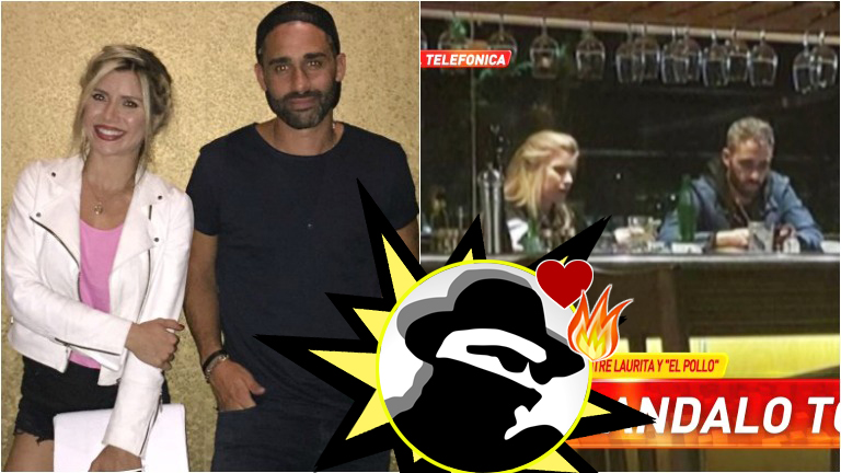 ¿Laurita Fernández y el Pollo Álvarez, mimosos en un restaurante? Su palabra en Infama