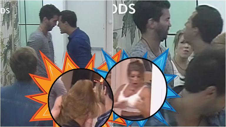 La pelea de Pablo y Alan en Despedida de solteros... ¡que terminó con escupitajos entre Karen y Angie!