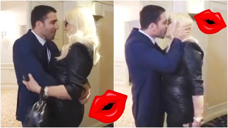 El apasionado encuentro de Susana Giménez y Miguel Ángel Silvestre... ¡que terminó en con un beso en la boca!