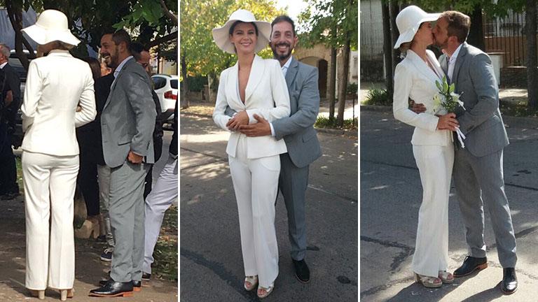 Las imágenes del casamiento por civil de Ariel Diwan y Eva Acebal
