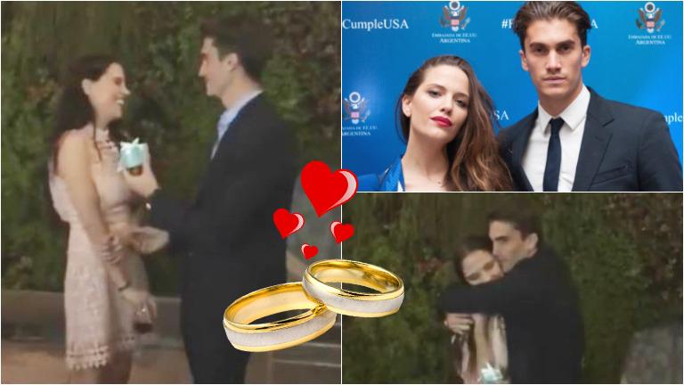 Tomás Guarracino le pidió casamiento a Ivana Figueiras