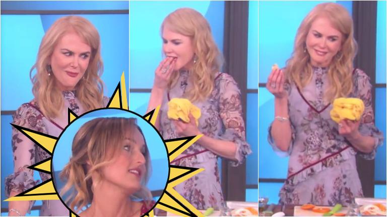 Nicole Kidman, picante con una cocinera... ¡probó su comida y terminó escupiéndola!