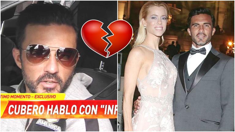 La confesión de Fabián Cubero sobre su relación con Nicole Neumann