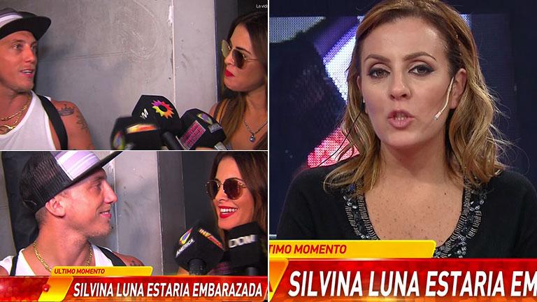 Fuertes rumores de embarazo de Silvina Luna