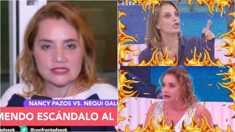 Nancy Pazos, sobre su pelea con Nequi Galotti en Nosotros a la Mañana: