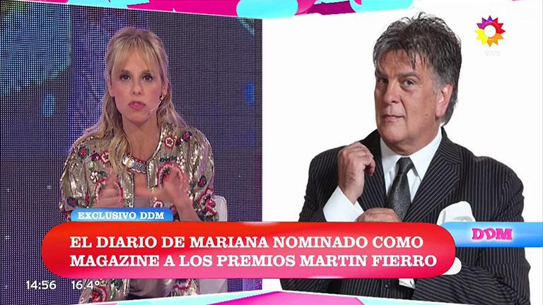 Mariana Fabbiani anunció las ternas a los premios Martín Fierro 2017