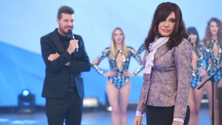 El monólogo de Cristina, imitada por Martín Bossi en el debut de ShowMatch