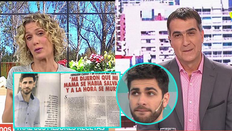 Antonio Laje y Maru Botana, el día después del desafortunado chiste del periodista