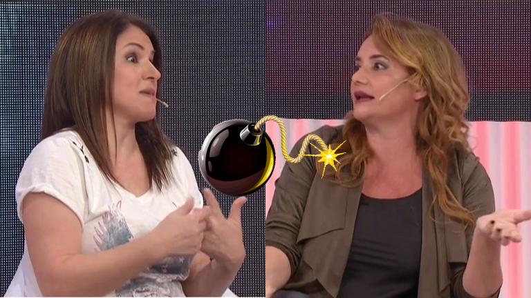 Picante cruce de Fernanda Iglesias y Nancy Pazos