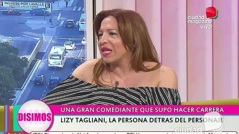 Lizy Tagliani, la persona detrás del personaje