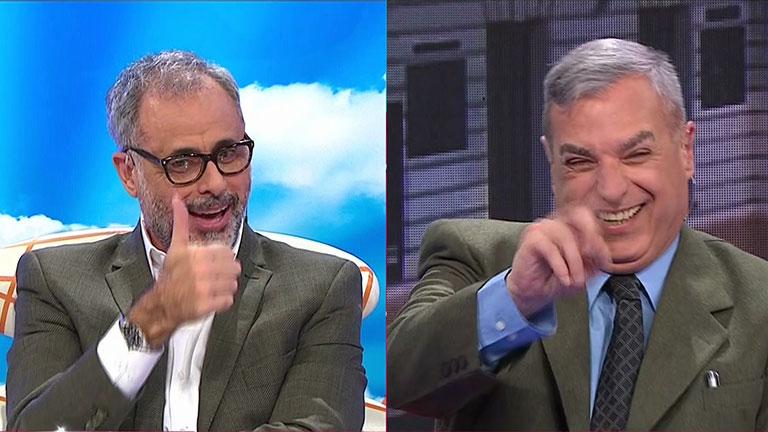 Así fue la reconciliación de Jorge Rial y Carlos Monti