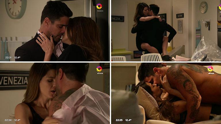 La fuerte escena de sexo entre Marcela Kloosterboer y Luciano Castro en Las Estrellas