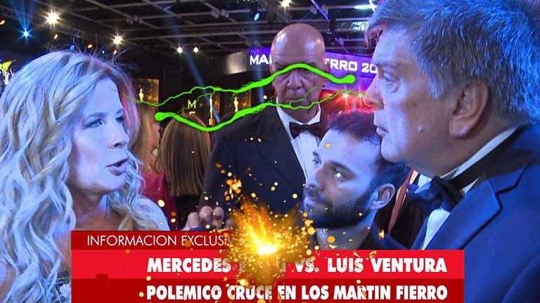 El fuerte cara a cara entre Luis Ventura y Mercedes Ninci
