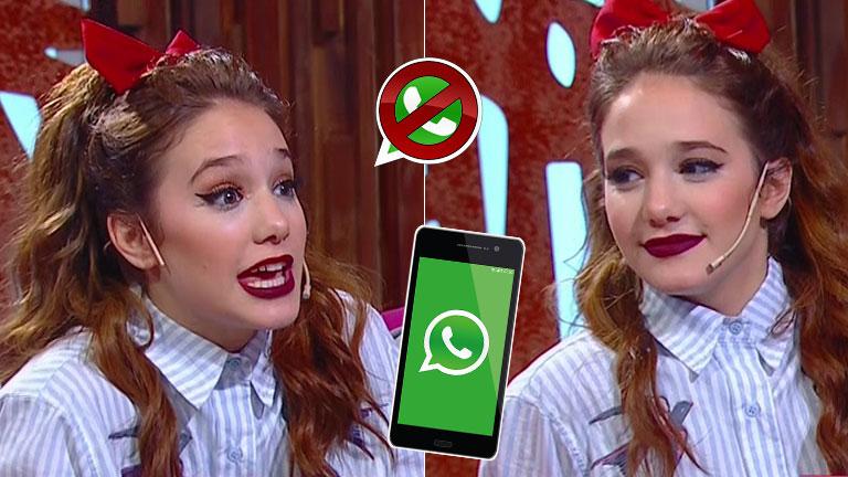 La contundente postura de Ángela Torre sobre el uso de WhatsApp