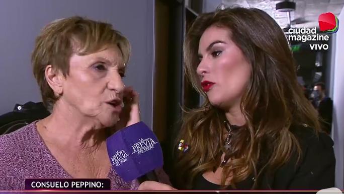 La gran noche de Consuelo Peppino