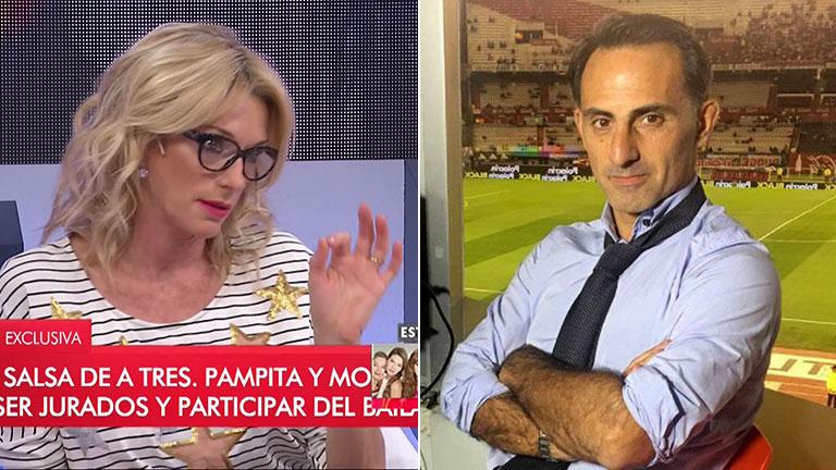 """La respuesta de Yanina Latorre cuando le preguntaron si bailaría salsa de tres con Diego: """"Viste que cuando lo tenés de rehén..."""""""