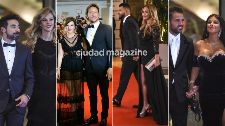 Los famosos en la alfombra roja del casamiento de Lionel Messi y Antonella Roccuzzo