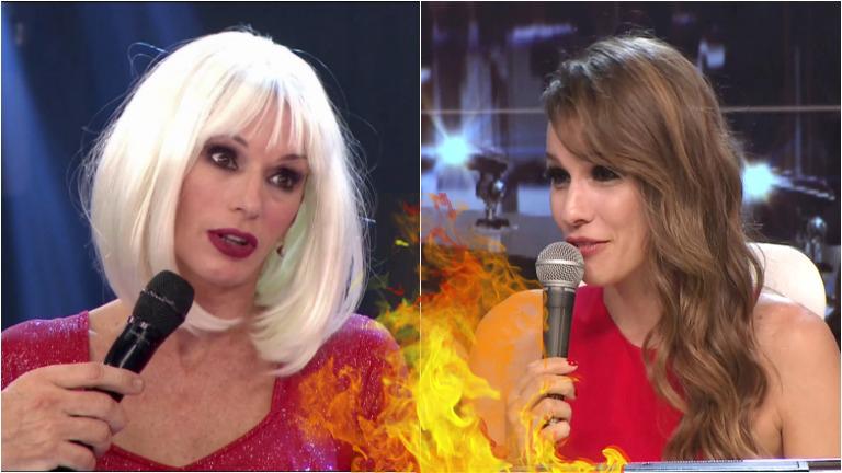 El encontronazo de Pampita y Yanina Latorre en ShowMatch