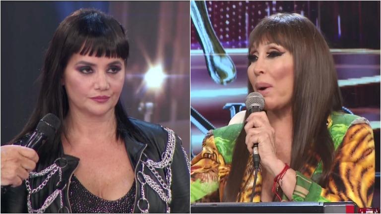 La picante frase de Moria a Nancy Pazos en el Bailando: