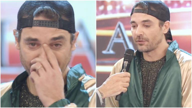 La emoción de Pedro Alfonso al anunciar su despedida en ShowMatch