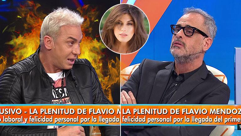 """Picante frase de Flavio Mendoza para Loly Antoniale cara a cara con Jorge Rial: """"Tu ex se sentía que era la poderosa de Argentina, se la tengo jurada"""""""