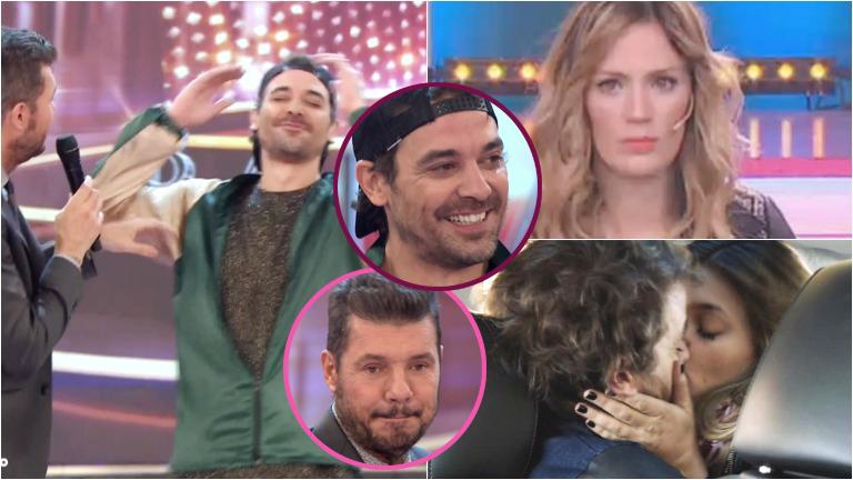 El súper fallido de Pedro Alfonso en ShowMatch cuando hablaba de los besos con Natalie Pérez en Las Estrellas