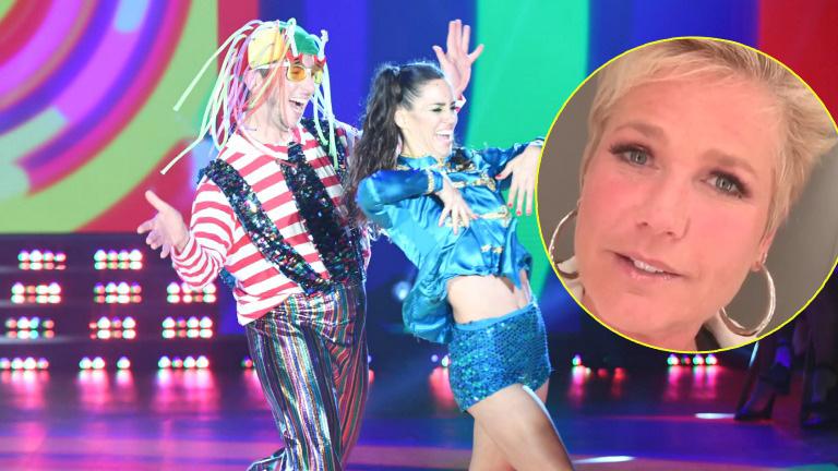 El saludo de Xuxa a Jey Mammon en Bailando 2017