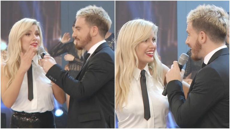 La escena de celos entre Fede Bal y Laurita Fernández en ShowMatch