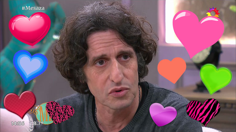 Diego Peretti y una defensa del amor libre