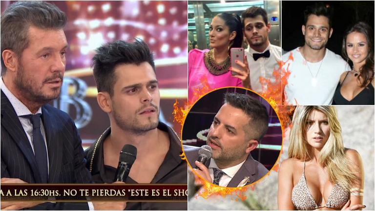 La picante pregunta a Lucas Velasco que le hizo Ángel de Brito en el Bailando sobre una exnovia